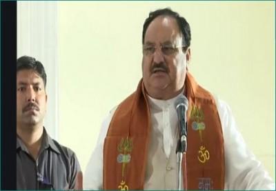 JP Nadda in Varanasi: 'abolish practice of triple talaq'