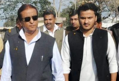 SP MP Azam Khan along with son gets corona