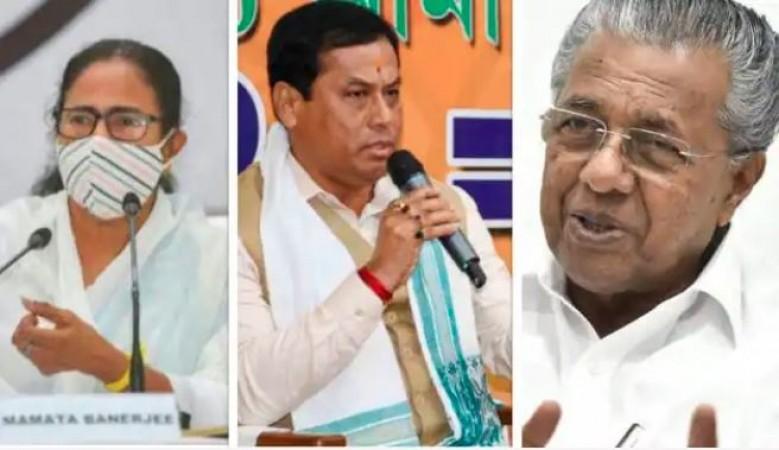 विधानसभा चुनाव: बंगाल में 'दीदी' की हैट्रिक, असम-केरल में भी सरकार रिटर्न्स