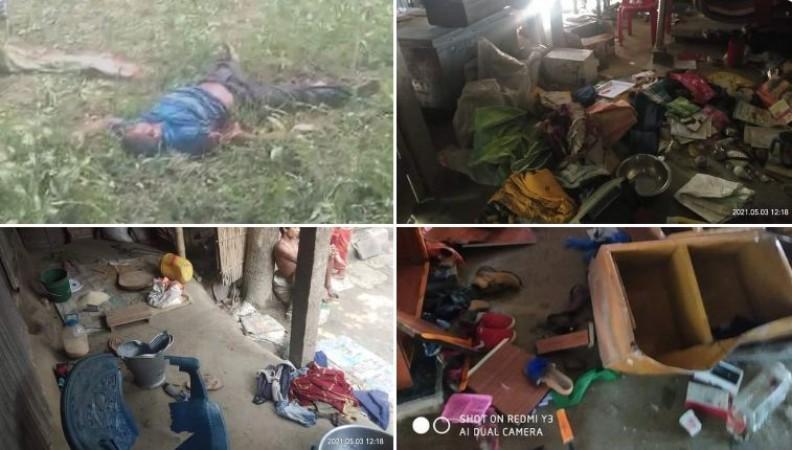 हत्या, आगज़नी, सामूहिक बलात्कार, मूर्तियों को पैरों तले रौंदा ... बंगाल में 'खुनी खेला' शुरू