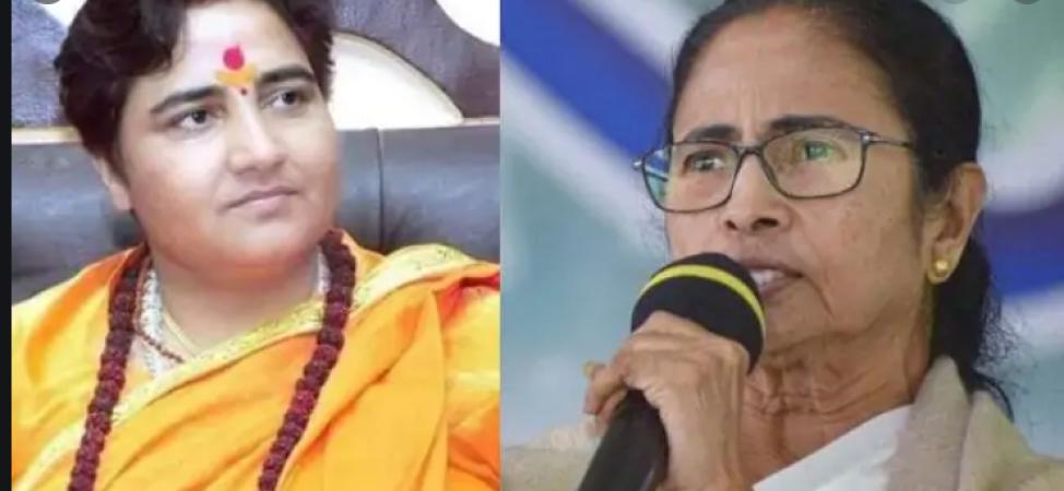 रक्षक बना भक्षक: बंगाल हिंसा पर भड़कीं प्रज्ञा ठाकुर, कहा- 'कलंकिनी बस'