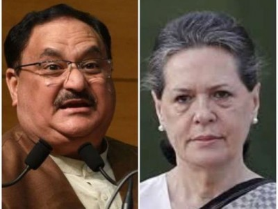 JP Nadda writes to Sonia Gandhi said, 'Stop dirty politics in this difficult time'