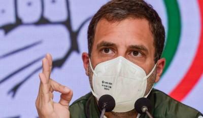 Rahul Gandhi attacks PM Modi says, 'Take off your pink glasses'