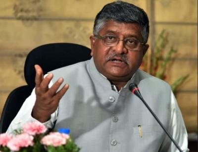 Union Minister Ravi Shankar hit back, said, 'CM Mamata's conduct is shameful and painful.. '