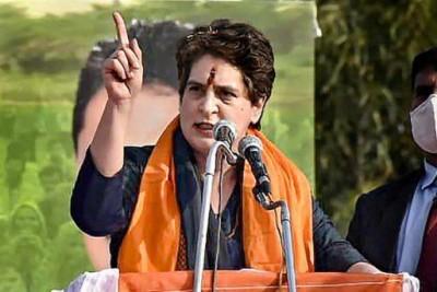 Priyanka once again slammed Modi govt said, 'Modi govt. responsible for lack of oxygen'