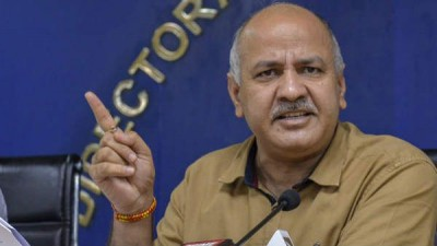 Sisodia lashes out at PM Modi, says 'he divided vaccine programme to brighten his image'