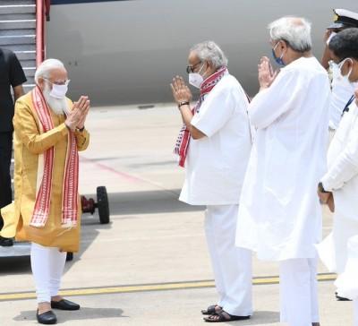 In response to PM Modi's help in cyclone Yaas, Odisha CM thanked PM Modi