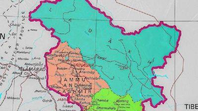 मोदी सरकार ने जारी किया देश का नया नक्शा, मानचित्र में PoK भी शामिल