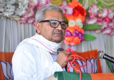 BJP MP Janardan Mishra said 'if the police come to recover the debt from farmers…'