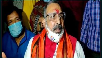 Giriraj Singh lashes out at Tejashwi- Digvijay Singh after Bihar election results