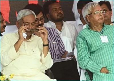 Lalu Prasad Yadav upset with Bihar election results