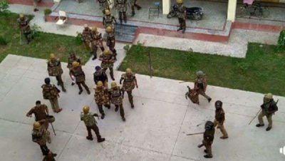 बनारस हिन्दू विश्वविद्यालय में फिर हुआ बवाल, जमकर चले ईंट-पत्थर