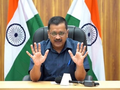 Corona: CM Kejriwal asks permission from central government to impose lockdown in Delhi