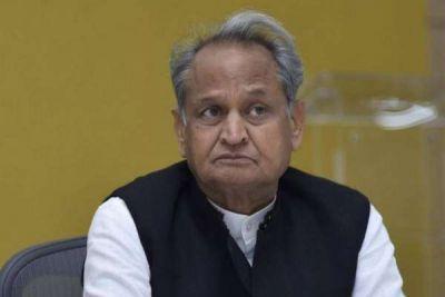CM Ashok Gehlot says