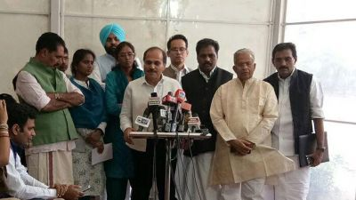 Congress Leader accused Marshals for misconduct with female MPs