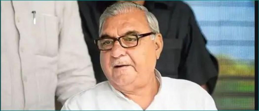 किसानों के विरोध प्रदर्शन के बीच भूपेंद्र सिंह हुड्डा ने साधा BJP पर निशाना