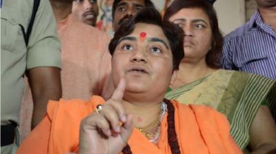 Sadhvi Pragya clarified on 'Patriot Godse' statement, said:
