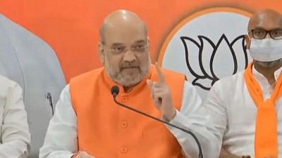 Amit Shah is confident about BJP's victory in Hyderabad polls