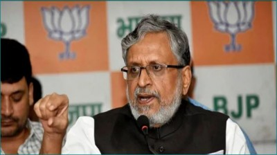 Those who leave BJP, never live in peace: Sushil Modi