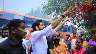 Aaditya Thackeray to file nomination for Worli seat today