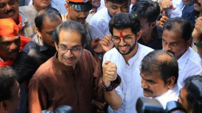 Shiv Sena chief Uddhav Thackeray's big announcement, said - I will not contest elections, but Aditya….