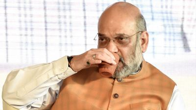 No plastic: Amit Shah enjoyed tea in Kulhad, other ministers also drank water in steel bottles