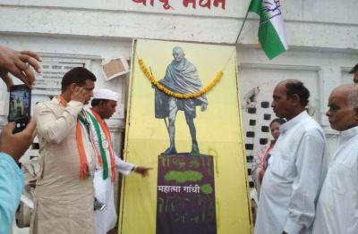 Madhya Pradesh: Mahatma Gandhi's ashes stolen from Bapu Bhavan, 'National traitor' written on the photo