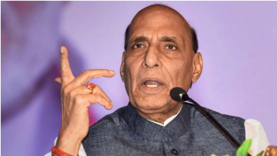 Defense Minister Rajnath Singh will celebrate Indian Air Force Day in Paris, will fly in fighter aircraft Rafale