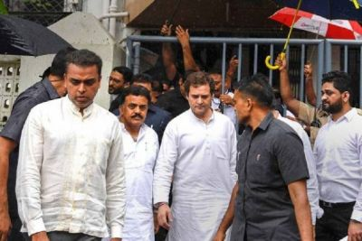 Defamation lawsuit: Rahul Gandhi appeared in court, said - all are trying to suppress the voice