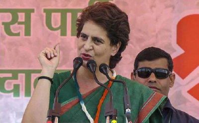 Priyanka Vadra's questions Center, says