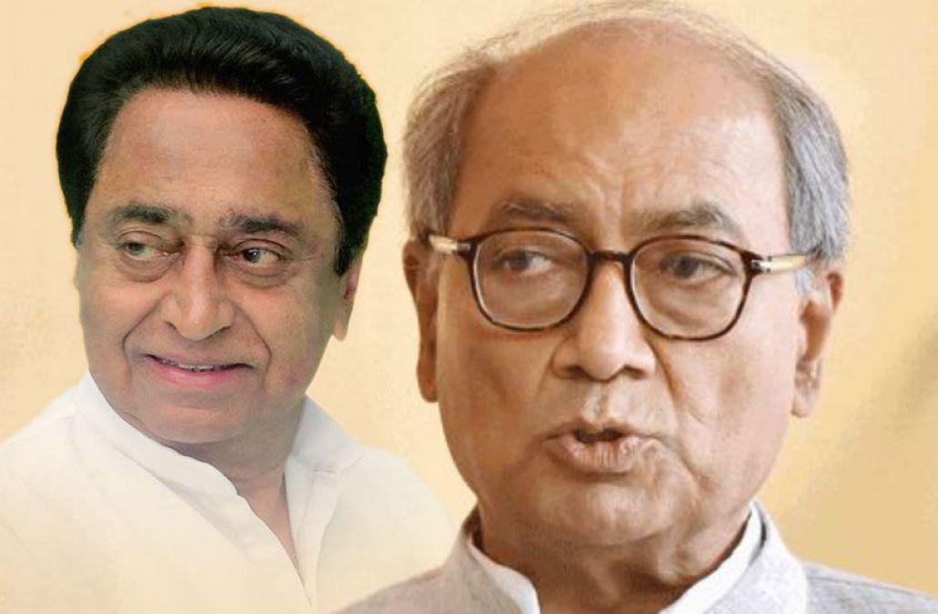 MP: Digvijay gave advice on cow protection, CM Kamal Nath counted ...