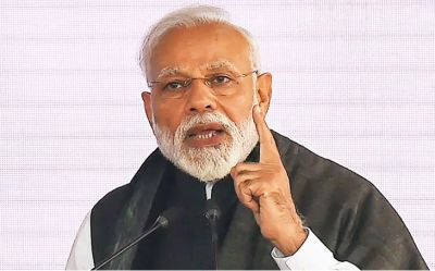 PM Modi roared in Maharashtra, said- Jammu Kashmir is not a piece of land for us, its India's head