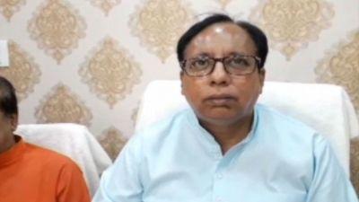 Bihar BJP President Sanjay Jaiswal honored in Bettiah