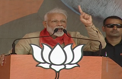 PM Modi, who roared in Haryana, said- 'Water of farmers' rights will not go to Pakistan'