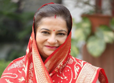 Rajkumari Ratna Singh, a three-time MP from Congress, joined BJP