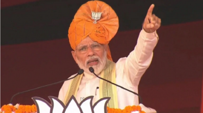 PM Modi said in Kurukshetra, said - When the strength of our country increases, Congress gets upset