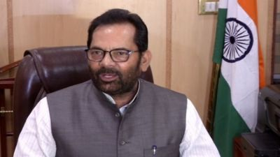 Naqvi targets Pakistan, calls India a paradise for minorities