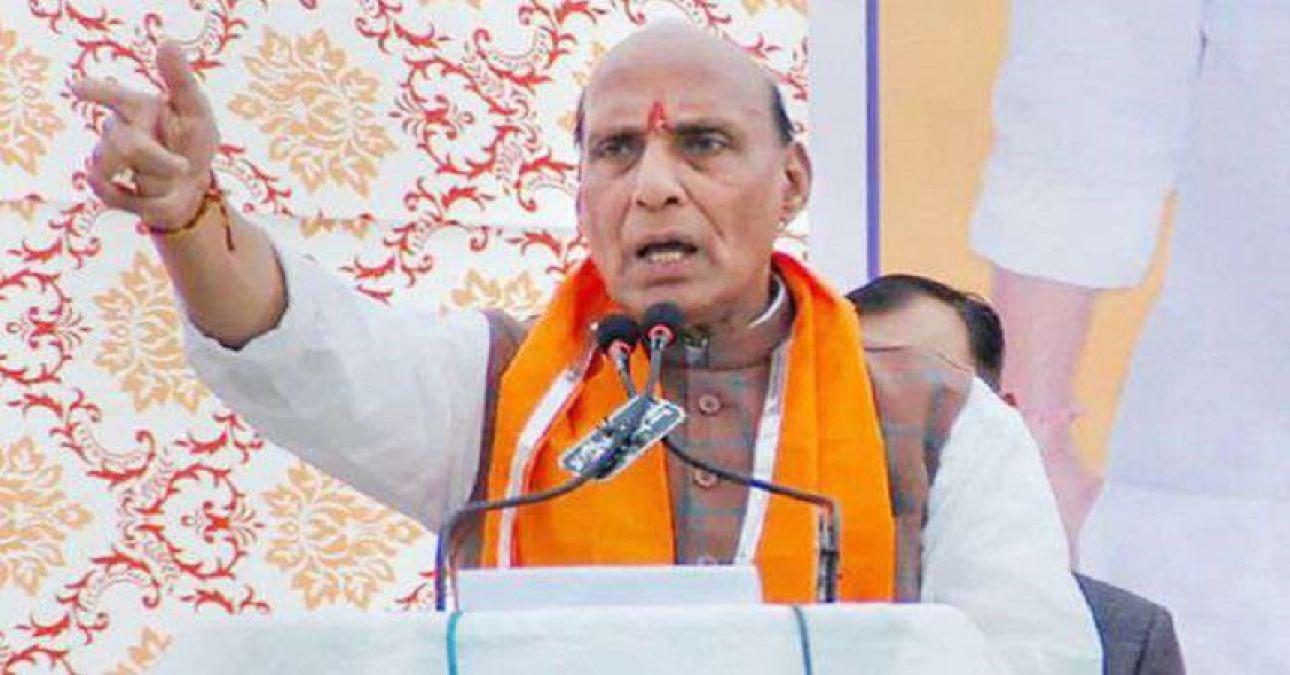 राजनाथ सिंह ने कश्मीर को बताया आंतरिक मसला, कांग्रेस से कहा- इसका अंतरराष्ट्रीयकरण न करें