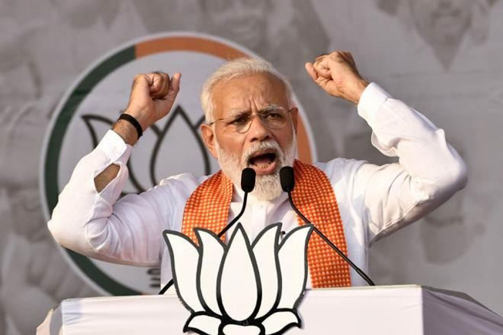 PM Modis attack on the opposition in Haryana, says