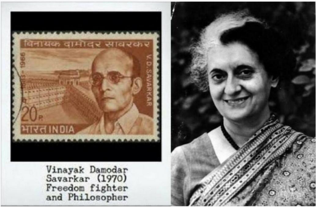 Big statement of Ranjit Savarkar, said- Indira was also a follower of Veer