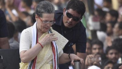 सोनिया गाँधी की तबियत बिगड़ी, आज हरियाणा में नहीं कर सकेंगी रैली