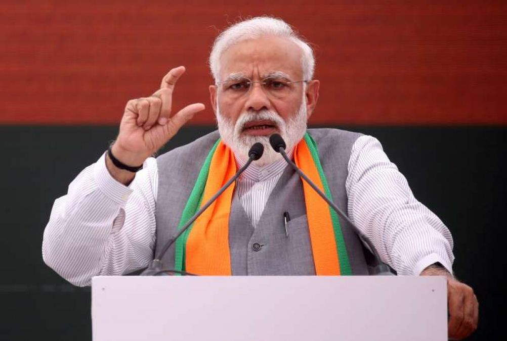 Haryana elections: PM Modi said, the distance between us and Kartarpur is going to