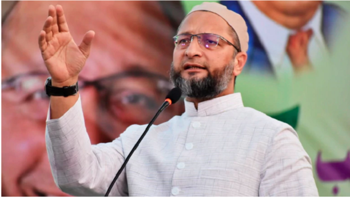 Owaisi had great fun during the election campaign, started dancing, watch the video