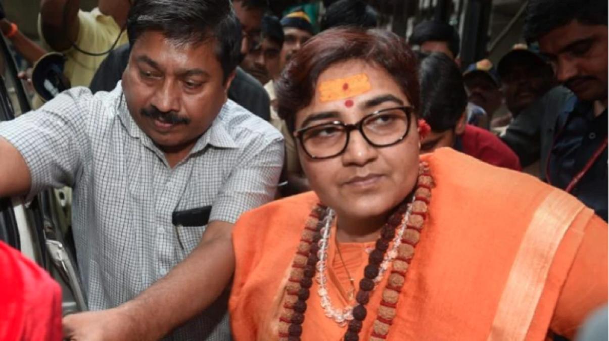 Politics intensified over Kamlesh Tiwaris murder, Sadhvi Pragya said attack on