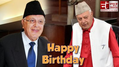 Birthday: Farooq Abdullah is a well-known leader of India, got arrested under this law