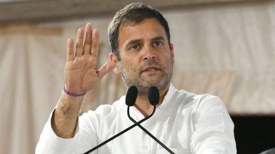 "Rahul Gandhi attacks Piyush Goyal, says, 'these bigots are blinded by hatred"""