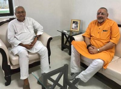 Bihar Assembly elections will be fought under the leadership of Nitish Kumar: Giriraj Singh