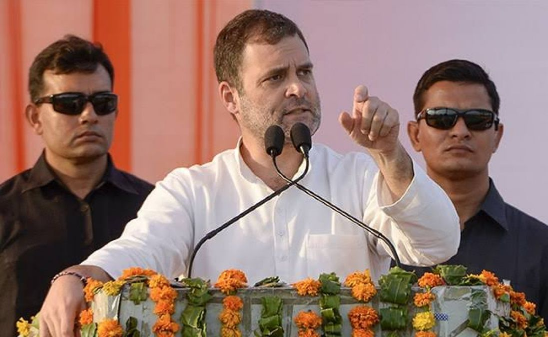 Rahul taunted party over the viral video of BJP MLA, said this