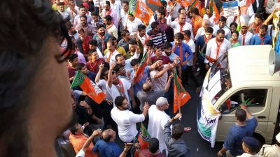 Haryana elections: BJP-Congress workers clash during voting