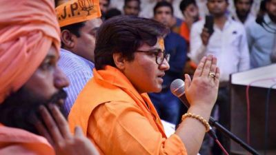 Sadhvi Pragya Thakur again gave a statement about Bapu, said 'Rashtraputra'